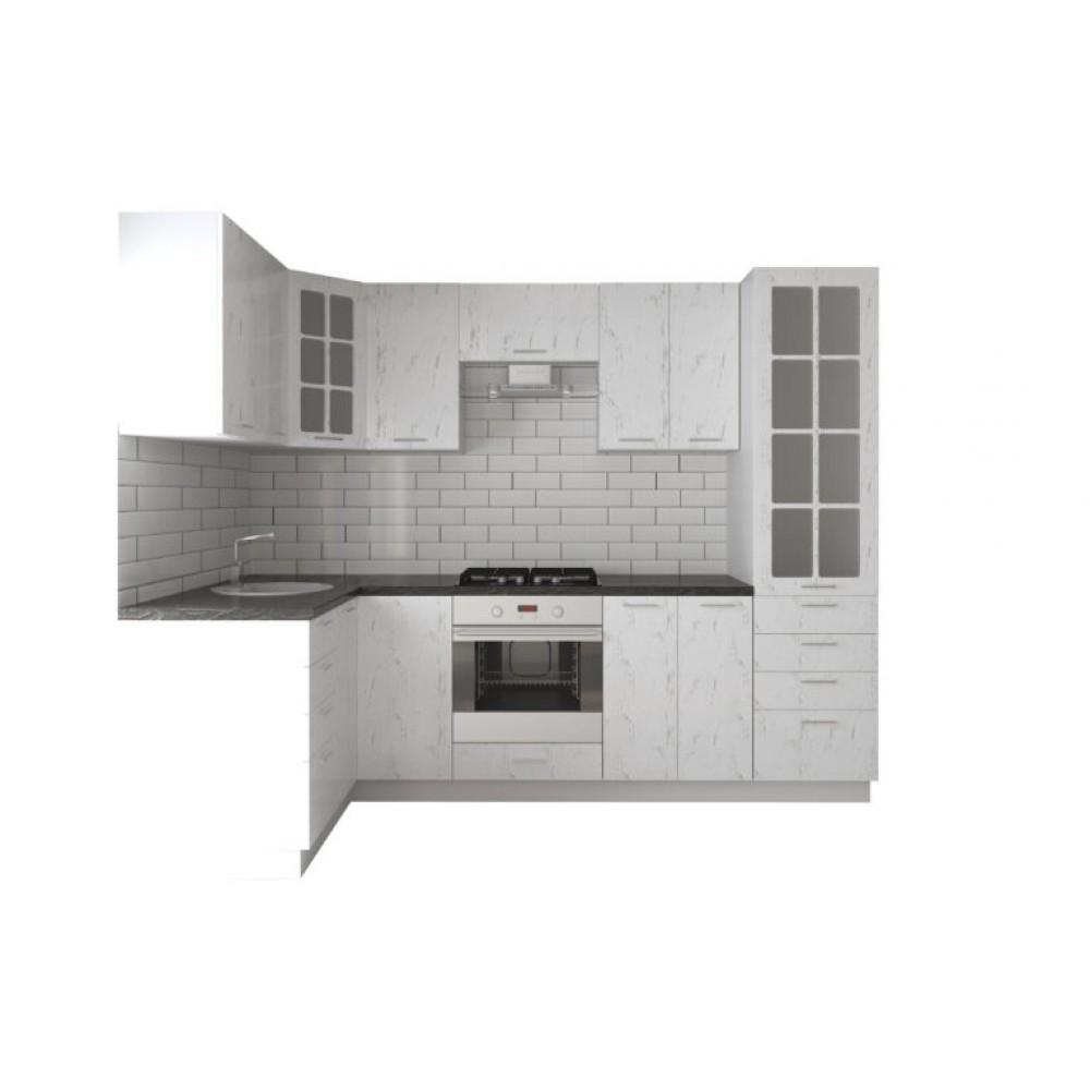 Кухня София | МДФ | Дуб полярный ( размер 2700*1400)