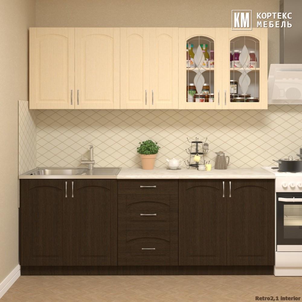 Кухня  Корнелия  РЕТРО от 1,5м до 2,6м