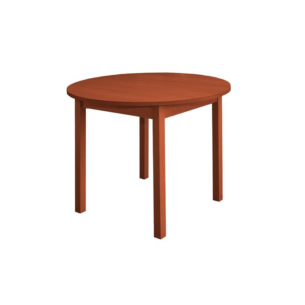 Стол обеденный раздвижной (круглая крышка)