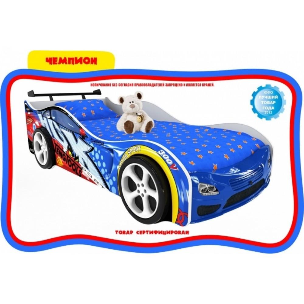 Кровать-машинка Чемпион