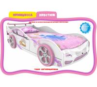 Кровать-машинка принцесса престиж