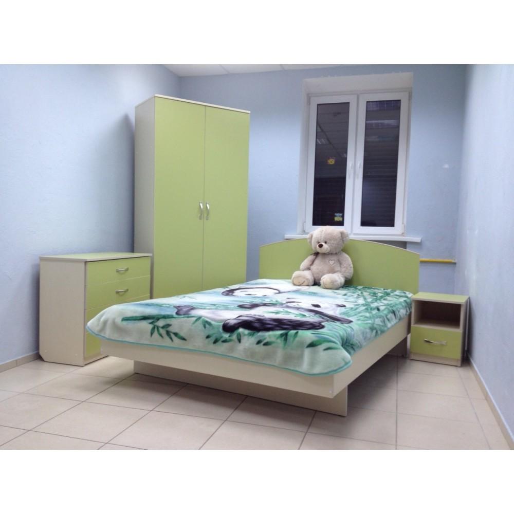 Кровать детская Колибри-Мини псП Береза