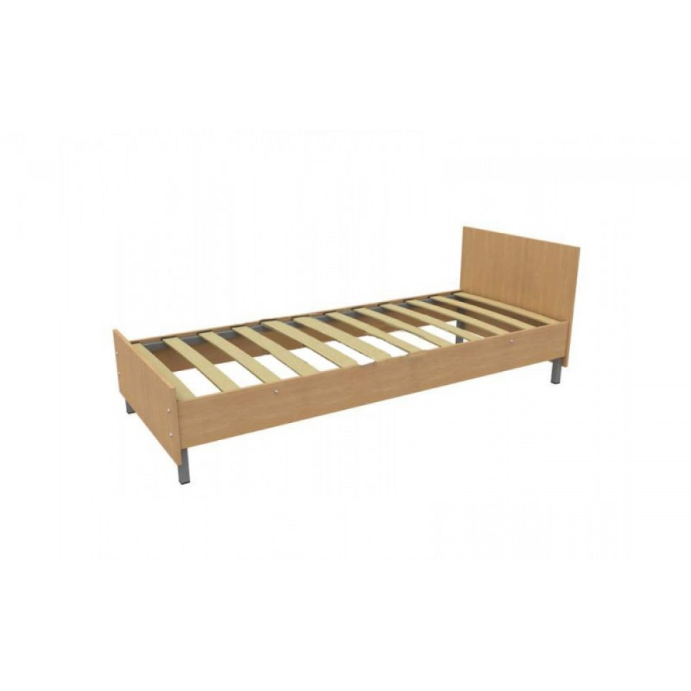 Кровать с ламелями, ширина от 70 см до 180 см.