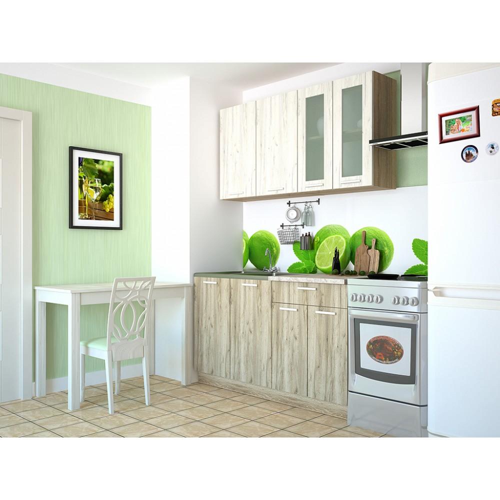 Кухня «Miла» прямая от 1,2м до 2,6м