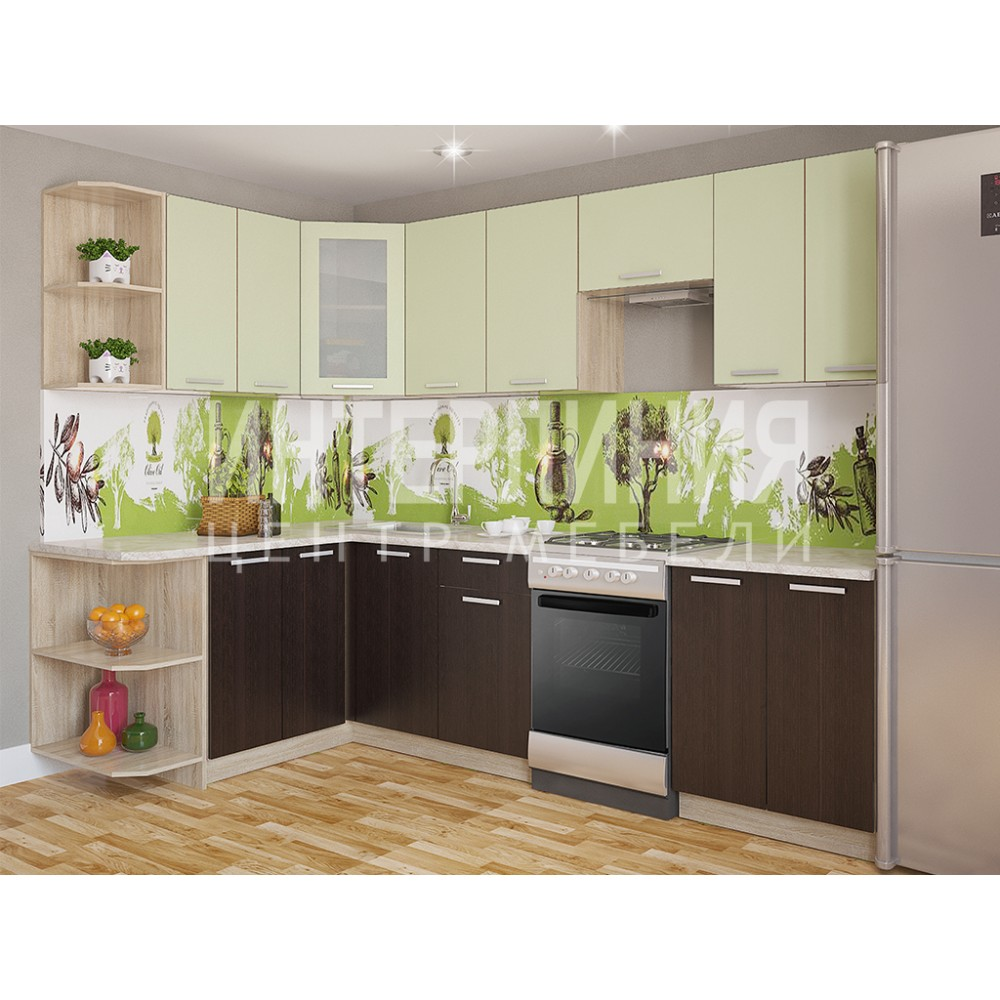 Кухня «Miла» угловая от 1,2м до 2,6 м