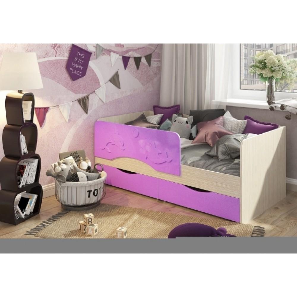 Кровать детская Алиса 1,6