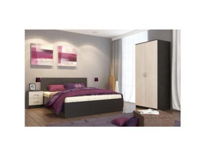 Спальня Ронда-1 венге-дуб молочный