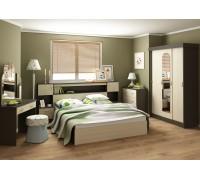 Спальня Бася (венге/беленый дуб)