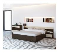 Спальня «Уют-1» венге-дуб